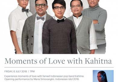 The Westin Resort Nusa Dua, Bali  Friday, July 6th 2018  MOMENTS OF LOVE WITH KAHITNA