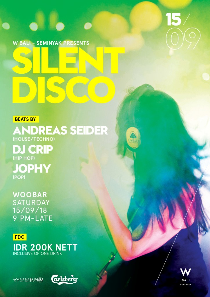 Silent Disco Flyer