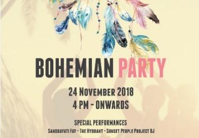 Roosterfish Beach Club : November 24th 2018 , Bohemian Party