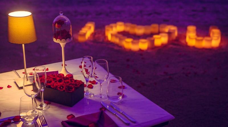 Valentine's Dinner in Melia Bali